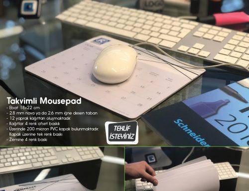 Takvimli Mousepad